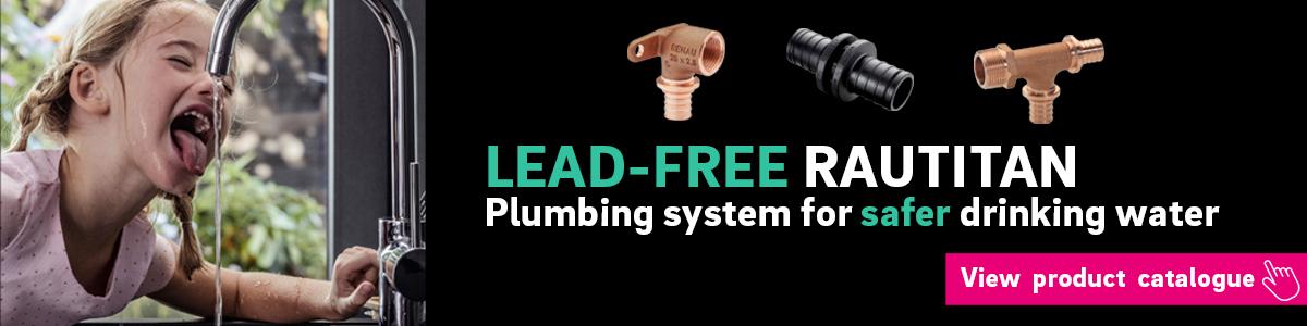 Lead-Free RAUTITAN plumbing system