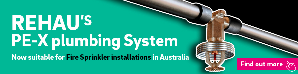 REHAU's plumbing system for fire sprinkler installations