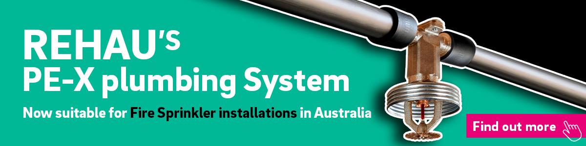 REHAU's plumbing system for fire sprinkler installations
